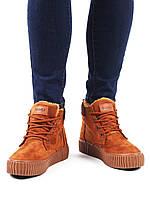 Ботинки замшевые женские Wonex