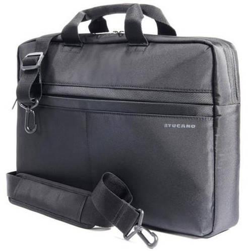 """Лаконичная сумка для ноутбука Tucano TRATTO M BAG PC 15.6"""" (BLACK) BTRA15 черный"""