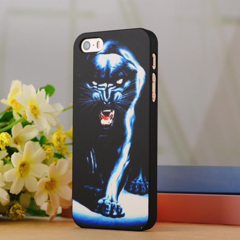 Стильный светящийся чехол Apple iPhone 5 5S