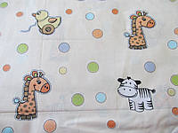 Хлопковое постельное белье детское со зверятами