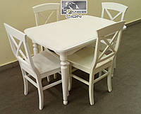 Обеденный комплект Стол + 4 стула.
