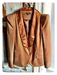 Женский пиджак в цвете темной карамели от Minimum Penny blazer в размере S 42 44