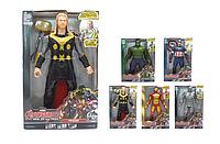 Игровой набор фигурок Мстители 9916. Набор Супер Герои: Капитан Америка, Тор, Халк, Муравей, Железный человек