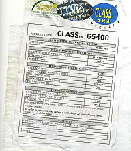 Флизелин клеевой,белый CLASSes 65400(0,9м*200м) мягкий