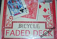 Карты игральные Bicycle Red Faded  +Gaff