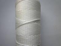 Нить вощёная плоская 0,8мм белая