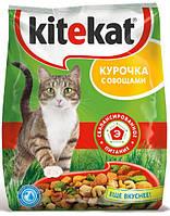 Kitikat (Китикет) cухой корм для взрослых кошек с курицей и овощами 13 кг