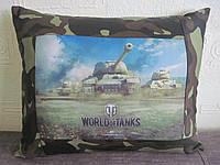 Подушка с фото World of tanks - Мир танков