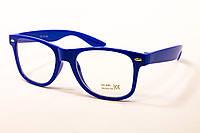 Очки для стиля  синие