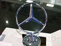 Mercedes-Benz W221 S-Class Эмблема Капота,Прицел,Звезда Новая Оригинал