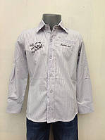 Нарядная рубашка для мальчиков 110,116,122,128 роста