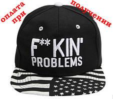 Чоловіча кепка, Snapback з прямим козирком, бейсболка, рэперка, хіп хоп FP