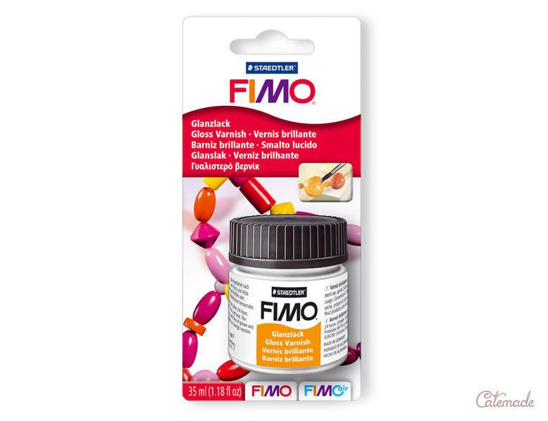 Фирменный лак ФИМО глянец большая заводская упаковка FIMO,35 мл,на водной основе (Германия)