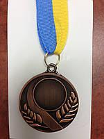 Заготовка для спорт. медалі SKILL d-5см C-4845-3 місце 3-бронза (метал, d-5см, 25g, на стрічці)