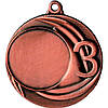 Медаль MMC2040/B-50мм, бронза+стрічка