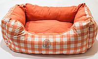 Лежак для собак ZOOM Twist №3 ( 60*40*27см ) оранжевый