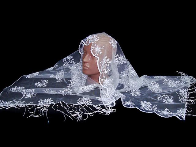 Свадебный шарф