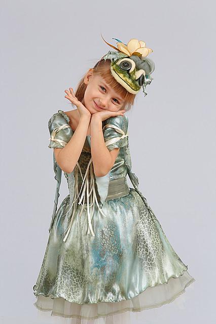 Продажа детского карнавального костюма - лягушка