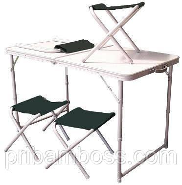 Стол раскладной со стульями TA 21407+FS21124