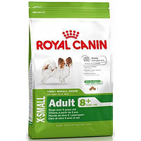 Корм Royal Canine x-small Adult 8+