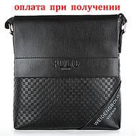 Мужская кожаная сумка бренд Polo Поло НОВИНКА!!!