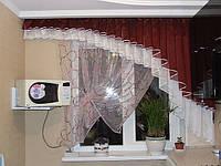Кухонная штора №40 комплект