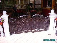Кованые ворота арт.в 21, фото 1