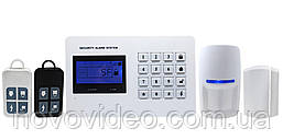 Автономная GSM сигнализация Samson SA-3008 с беспроводными датчиками