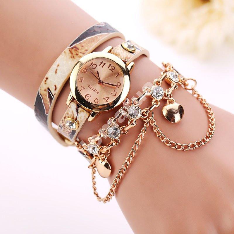 Эксклюзивные женские часы-браслет