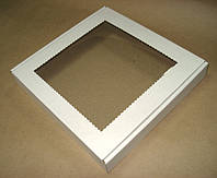 Коробка с окошком для пряников 200х200х30 мм