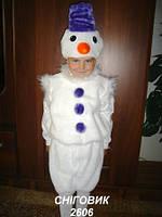 Детский карнавальный костюм - снеговик (г. Николаев)