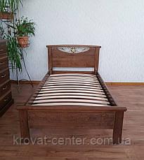 """Кровать для гостиниц """"Фантазия"""". Массив - сосна, ольха, береза, дуб., фото 2"""