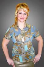 Блуза женская шифоновая БЛ 009