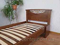 Прикроватный столик. Массив - сосна, ольха, береза, дуб., фото 3