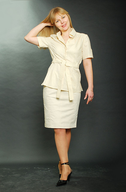 Блуза женская с коротким рукавом