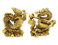 Дракон и Феникс (каменная крошка)