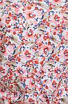 Блуза из натурального штапеля с цветочным рисунком, фото 2