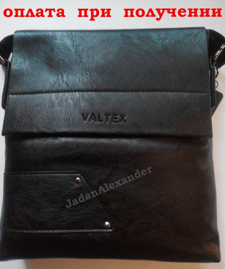 Чоловіча шкіряна сумка бренд VALTEX (1601) НОВИНКА!