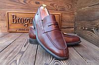 Мужские  туфли лоферы Merhisto, made in Italy, 28.5 см, 43.5 размер.