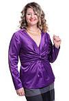 Блуза женская из хлопка стрейчевая, фото 2
