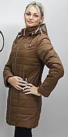 Женская батальная куртка КР-11 коричневая 42-74 размеры