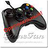 Джойстик Xbox 360 проводной (оригинальный) (Черный)