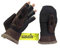 Перчатки-варежки Norfin Aurora ветрозащитные отстёгивающиеся (703025)