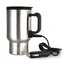Термокружка с подогревом Heated Travel Mug (Stainless Steel), фото 3