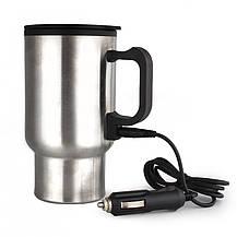 Термокружка з підігрівом Heated Travel Mug (Stainless Steel), фото 3