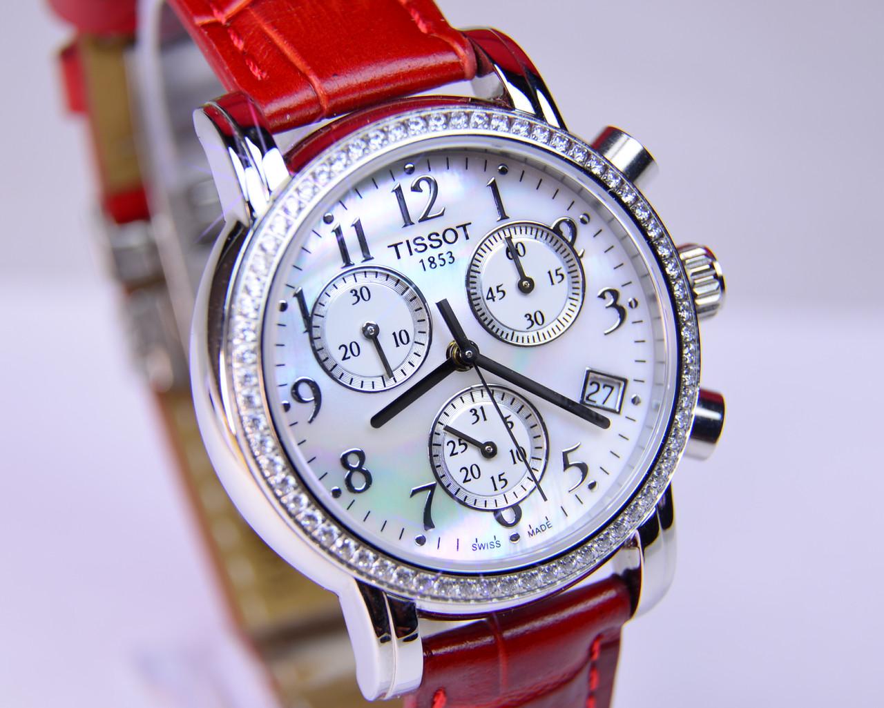 Женские часы TISSOT T050.217.16.112.00 Miyota Saphire, фото 1