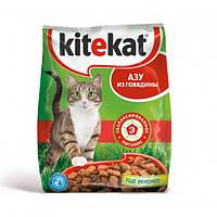 Kitikat (Китикет) cухой корм для взрослых кошек Азу из говядины 13 кг