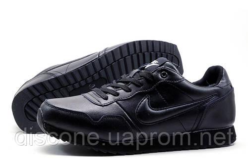 Кроссовки зимние Найк Airmax, мужские, на меху, черные