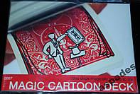 Карты игральные трюковые Bicycle MagicCartoon Deck