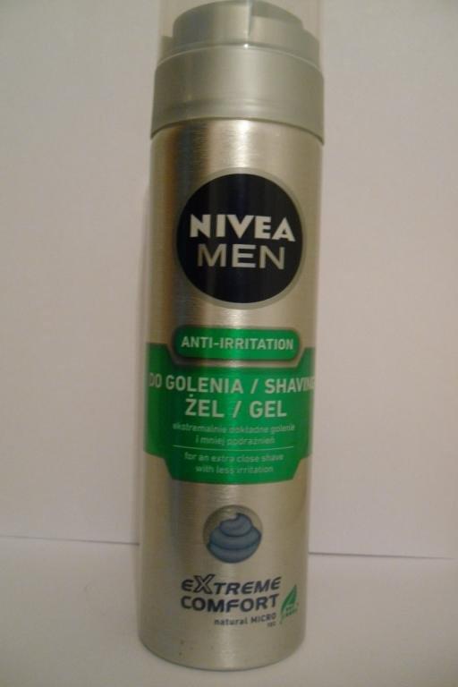 Гель для голiння Nivea Men Extreme Comforte 200мл.